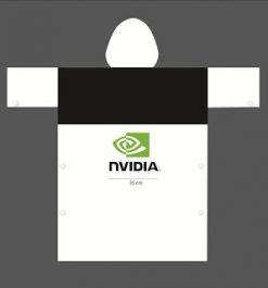 Áo mưa quảng cáo NVIDIA phối