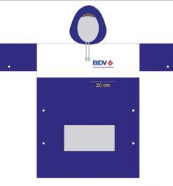 Áo Mưa In Logo Ngân Hàng BIDV