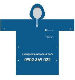 Áo Mưa Quảng Cáo, Áo Mưa Quà Tặng Áo Mưa In Logo BLUEMOUNTAIN