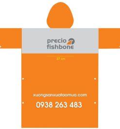 Áo Mưa Quảng Cáo Precio Fishbone