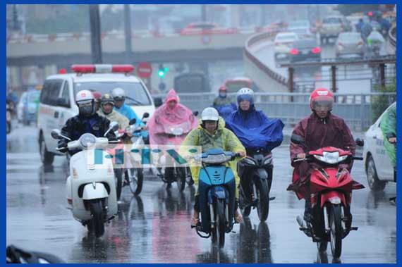 Áo mưa mặc một lần giá rẻ, chất lượng không cao